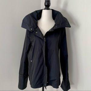 Olsen funnel neck spring jacket